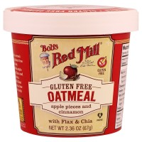 Bob's Red Mill, Oatmeal, Apple Pieces and Cinnamon(67 g)