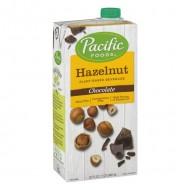 Pacific Natural Foods Hazelnut Non-Dairy Beverage Chocolate -- 32 fl oz (946 ml)