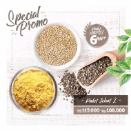 Paket Sehat 2 (150 gr Organic Chia Seed, 100gr Nutritional Yeast, Organic Quinoa)