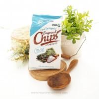Sahmyook Organic Seaweed Chips Sea Salt 4gr