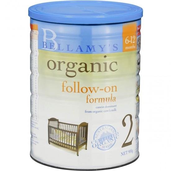 Bellamy's Organic Follow-on Formula Stage 2 (900g)