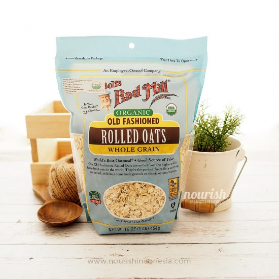 Bob's Red Mill, Organic Old Fashioned Rolled Oats (453 g)