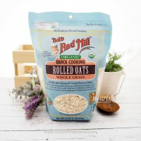 Bob's Red Mill, Organic, Quick Cooking Rolled Oats (454 g)