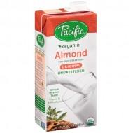 Pacific, Organic Almond Milk Unsweetened (946ml)