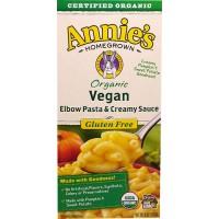 Annie's Homegrown Organic Vegan Elbow Pasta & Creamy Sauce 170g