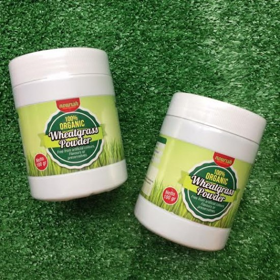 Organic Wheatgrass Powder (100gr)
