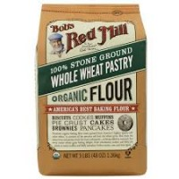 Bob's Red Mill Organic Whole Wheat Pastry Flour -- 48 oz (1.36 kg)