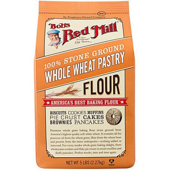 Bob's Red Mill Whole Wheat Pastry Flour 2.27 kg