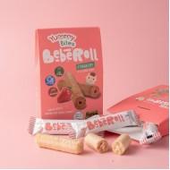 Yummy Bites - Bebe Roll Strawberry 40g