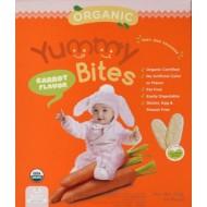 Yummy Bites Organic Carrot Flavor 50 gr (24 pc)