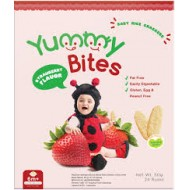 Yummy Bites Strawberry Flavour (50 gr) 24pc