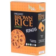 Organic Brown Rice Rings Cheese 40gr