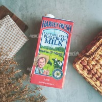 Harvey Fresh Lactose Free Full Cream Milk UHT 1L (Susu Bebas Laktosa)