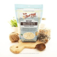 Bob's Red Mill, Instant Rolled Oats, Whole Grain (454g)