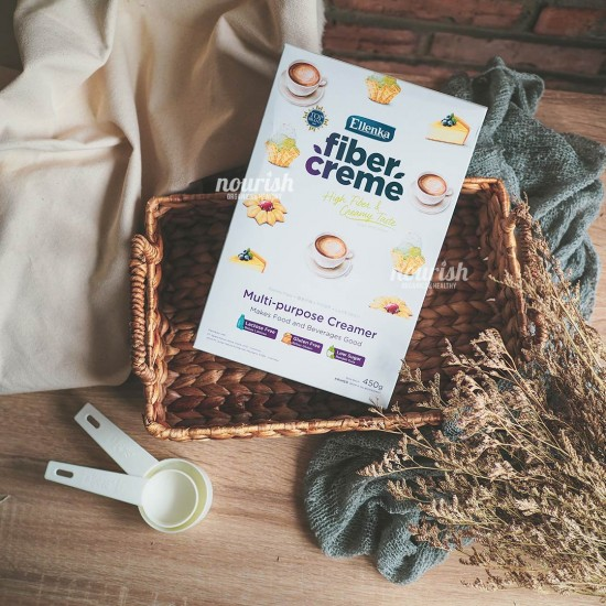 Fiber Creme Multi Purpose Creamer (Pengganti Santan & Susu) 450 gr