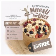 BUY 1 GET 1 FREE Antioxidant Muesli (500gr x  2pc)