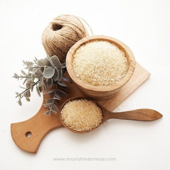 Nourish Indonesia, Organic Cane Sugar 1 kg
