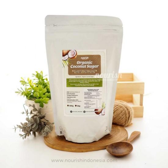 Nourish Indonesia, Organic Coconut Sugar 500gr