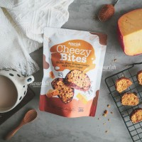 Cheezy Bites (Gluten Free Cheese Cookies ) Kue Sehat 150 gr