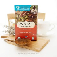 Numi Tea, Organic Golden Chai, 18 Teabag