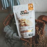Oh Ma Grain, Organic Brown Rice Cakes Plain 45 gr
