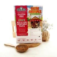 Orgran, Rice & Corn Vegetable Animal Shaped Pasta, Gluten Free, 7.0 oz (200 g)