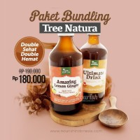 Paket Tree Natura, Amazing Lemon Ginger + Ultimate Drink JSR 320ml