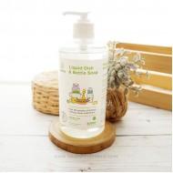 Pureco, Liquid Dish & Bottle Soap 500 ml