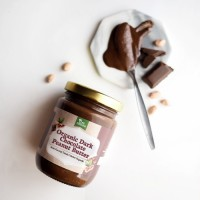 Tree Natura Organic Peanut Butter Dark Chocolate 225 gr (Selai Kacang)