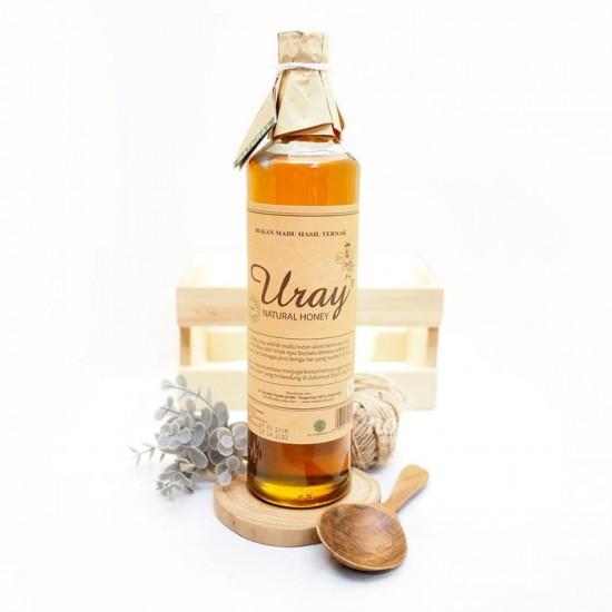 Madu Uray / Madu Lebah Hutan / 100% Raw Natural Honey 640 ml
